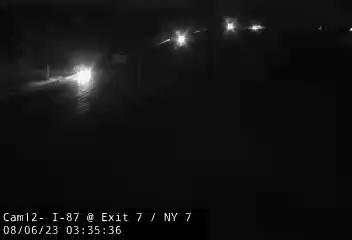 I-87 at Exit 7 - NY 7 Traffic Cam