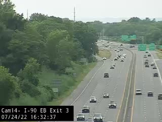 I-90 at Exit 3 (State Office Campus) Traffic Cam