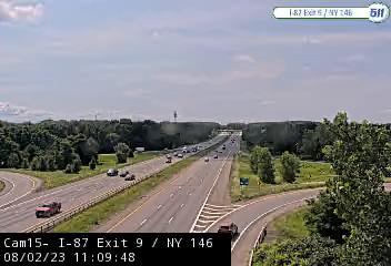 I-87 at Exit 9 NY 146 (Clifton Park) Traffic Cam