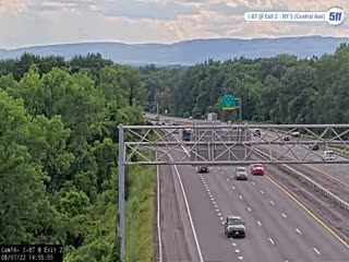 I-87 at Exit 2 (NY 5 - Central Avenue) Traffic Cam