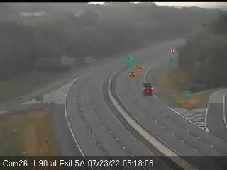 I-90 at Exit 5A (Corporate Woods Boulevard) Traffic Cam