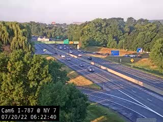 I-787 at NY 7 Traffic Cam