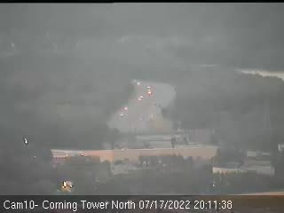 I-787 from the north side of the Corning Tower Traffic Cam