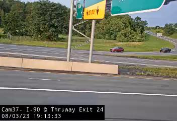 I-90 at the Exit 24 Tolls Traffic Cam